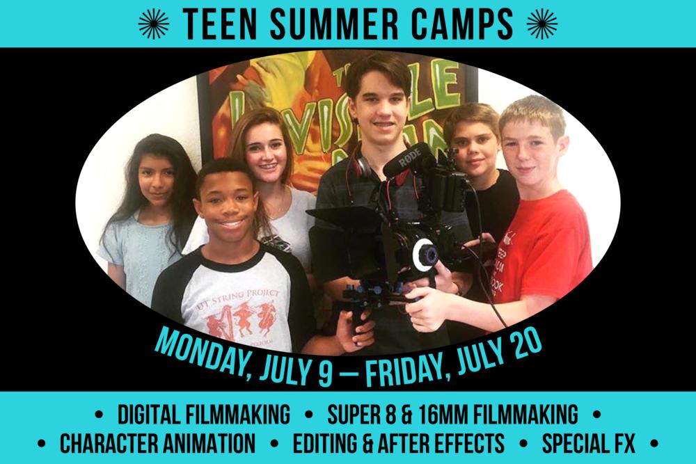 Teen Summer Camps