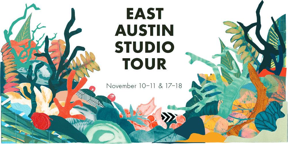 East Austin Studio Tour:  November 10-11 & 17-18