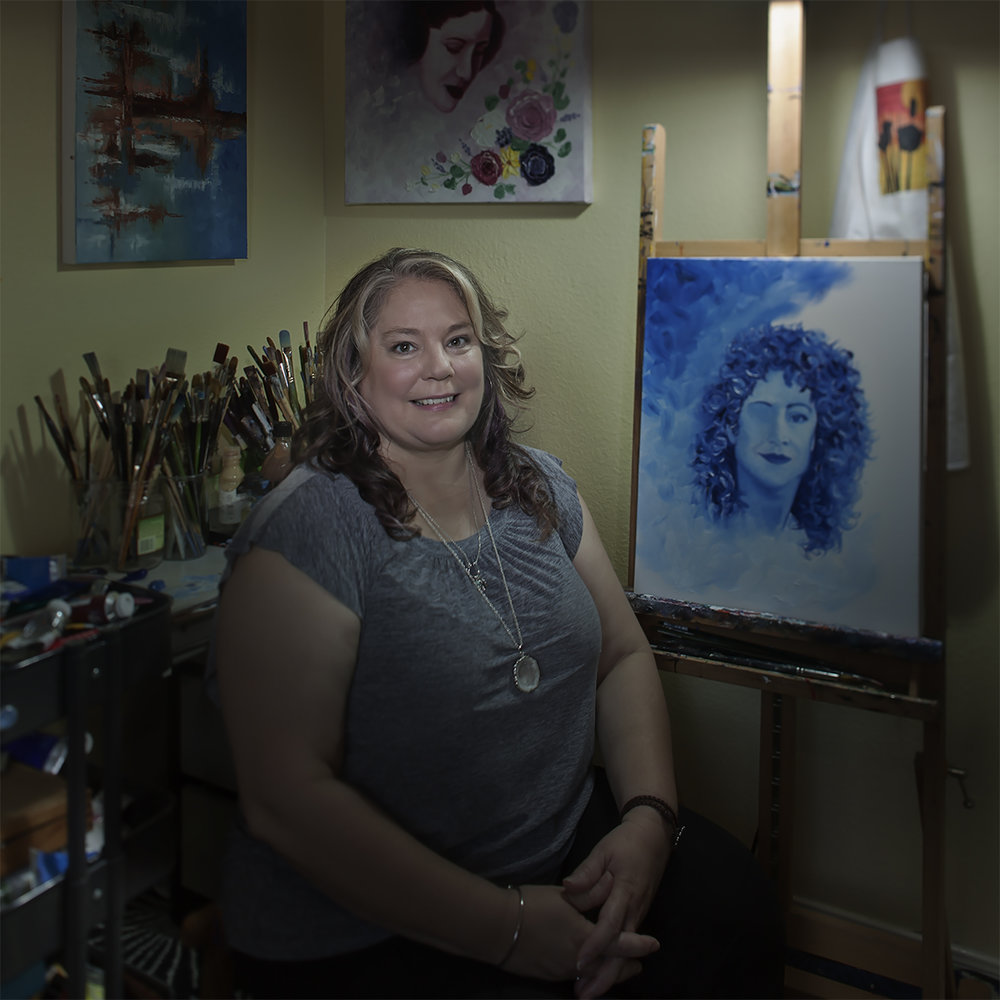 Theresa Schlossberg - We're exploring the world of the dozens of local artists featured at MMAC's 2018 EAST gallery and their mediums. The goal of this series is to shed light on real-life Central Texas artists exploring what & why they create.