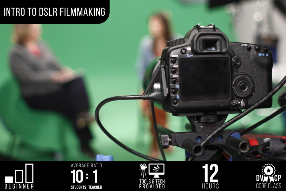 DSLR Filmmaking for Beginners