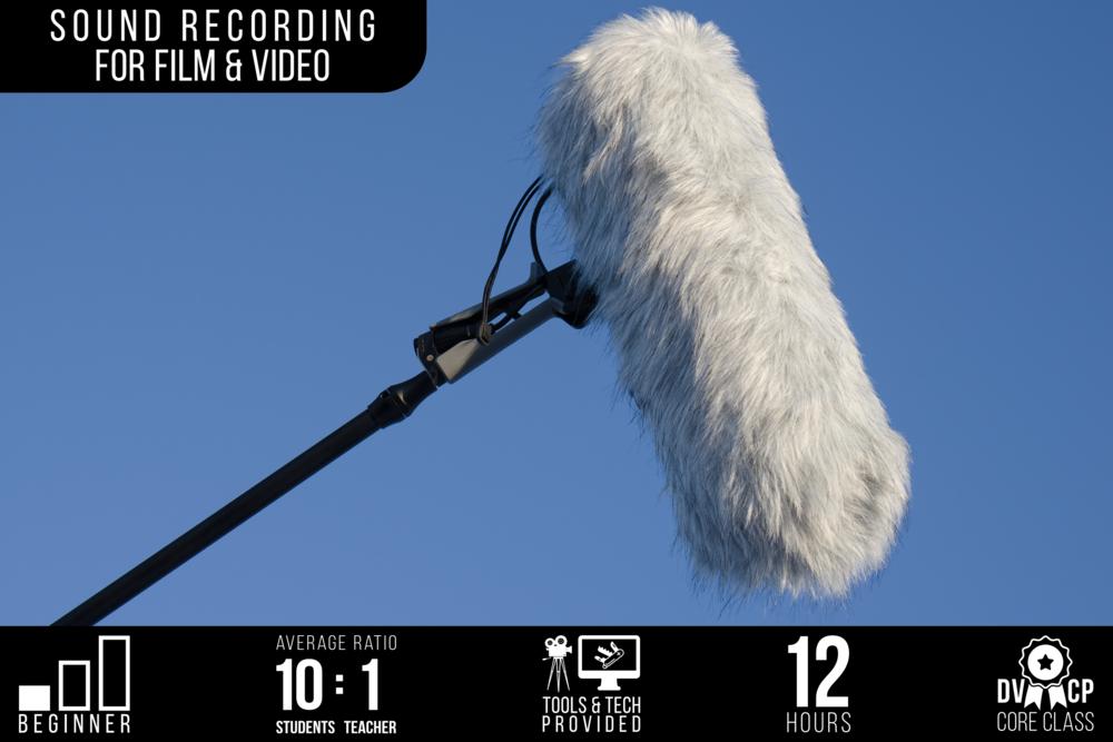Sound Recording for Film & Video