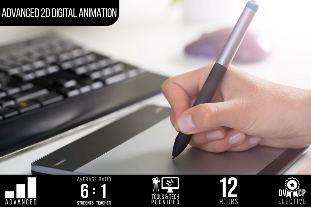 Advanced 2D Digital Animation