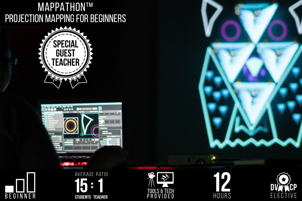 Mappathon™: Projection Mapping for Beginners