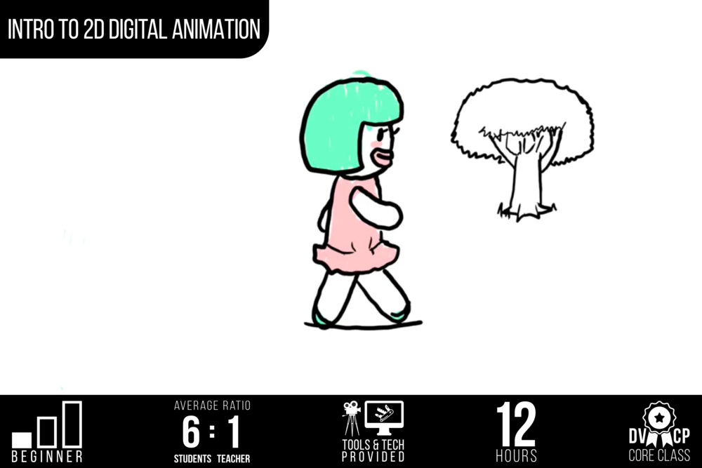 Intro to 2D Digital Animation