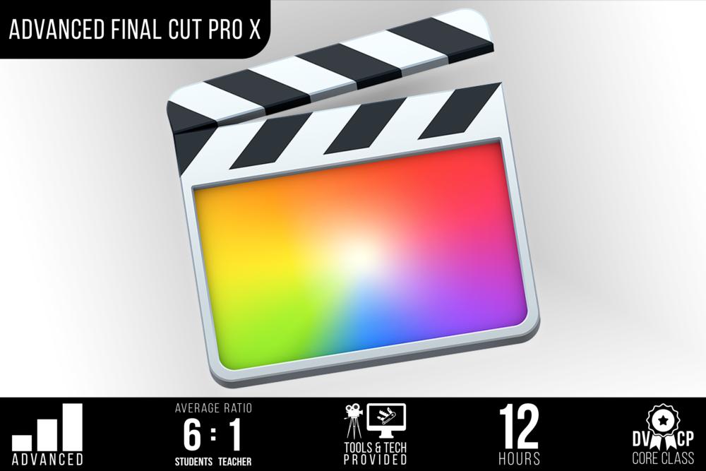 Advanced Final Cut Pro X