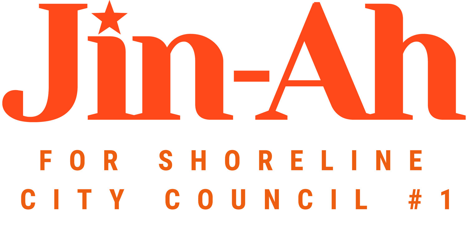 Jin-Ah Kim for Shoreline City Council Pos. #1