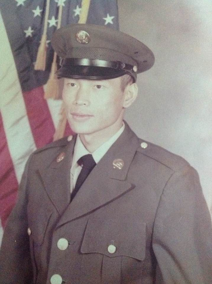 My father, U.S. Army Disabled Veteran Thank you for your service Appa