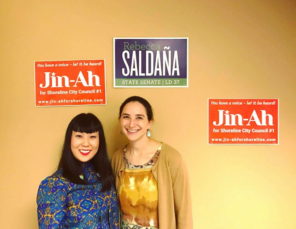 I am proud to be endorsed by WA State Senator Rebecca Saldaña of the 37th Legislative District - (Seattle)