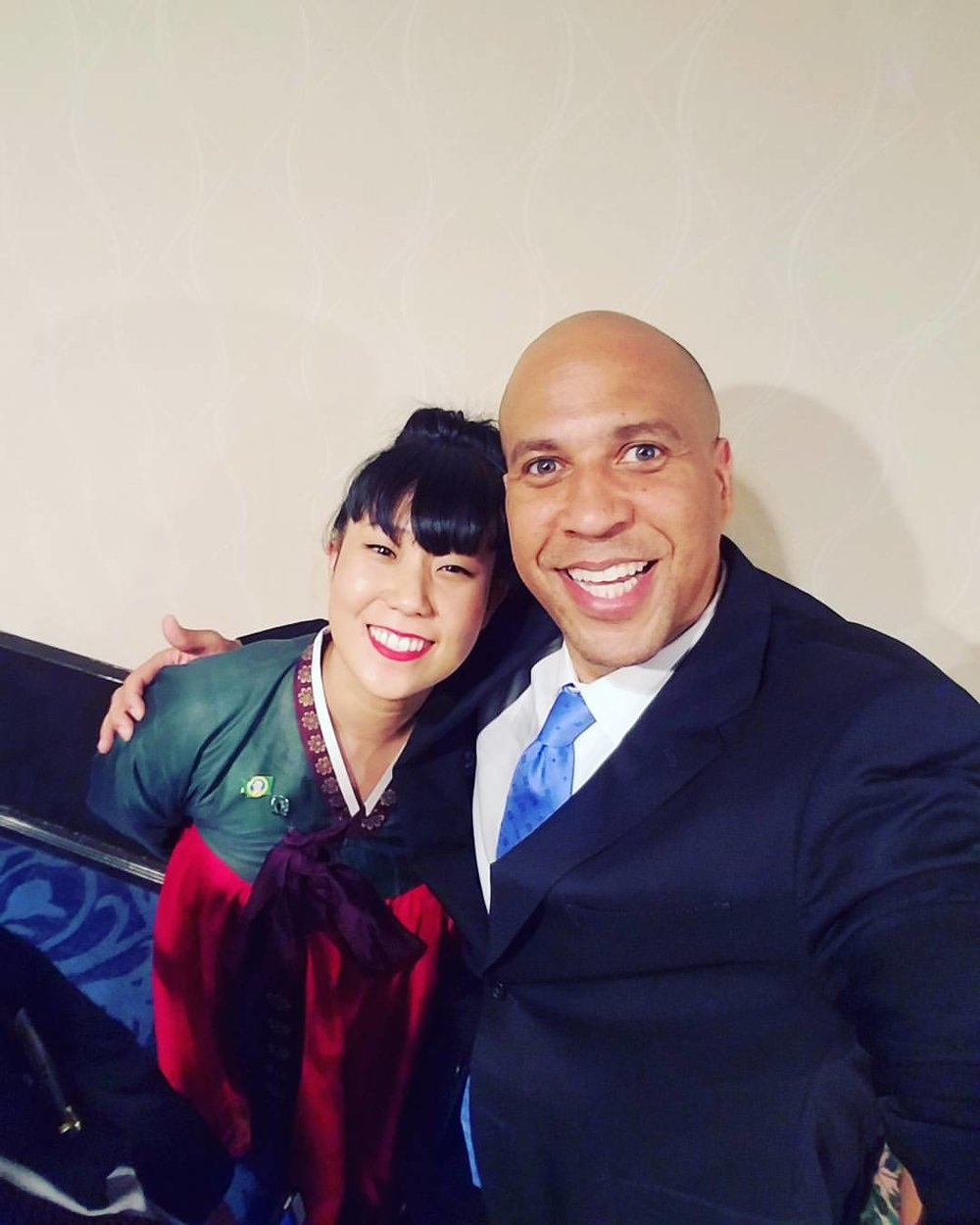 I was fortunate to hear Sen. Cory Booker (NJ) as the keynote speaker for the 2017 APAICS gala in Washington D.C. as a National Leadership Academy fellow representing Washington State.