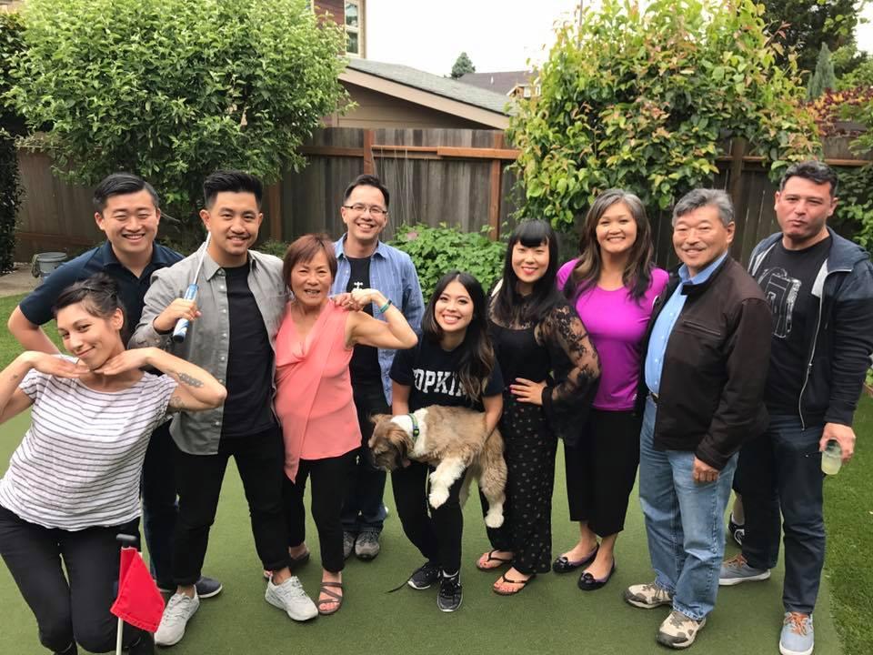 APACE board members pose with WA State Sen. Bob Hasegawa - 11th Legislative District (Seattle)