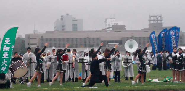oendan - Japanese cheering squads that preform before the race begins