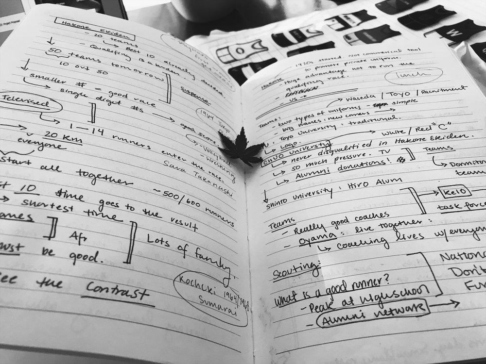 Notes & Reflections - Brett