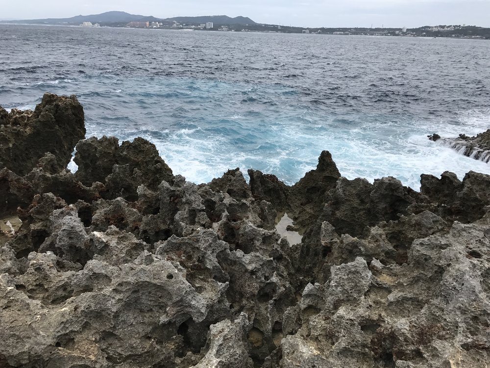 Volcanic rocks in Naha
