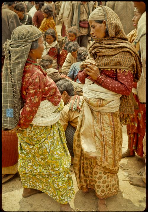 Jiri market, Nepal