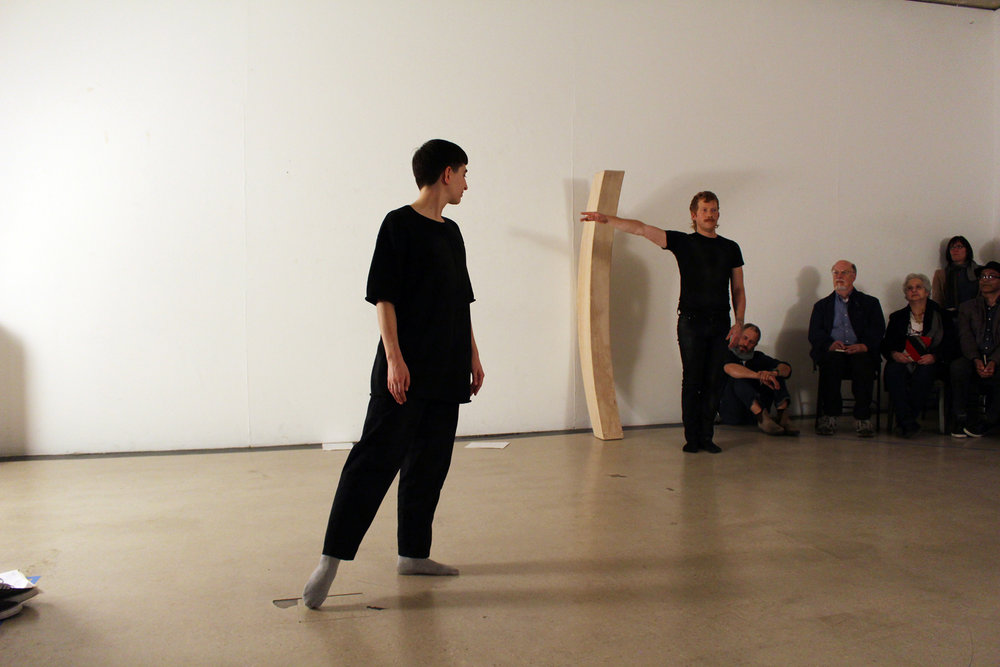 Holding the Room as an Aside (Performance)