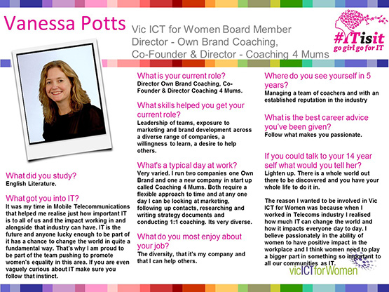 Vanessa Potts Interview slides