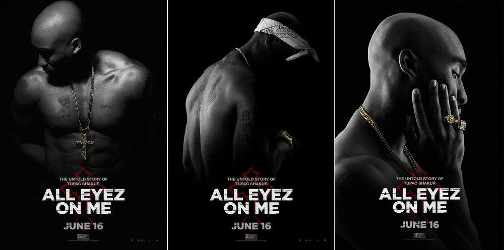 """All Eyez on Me (2017)"" Tupac Biopic Movie Promo Shoot"