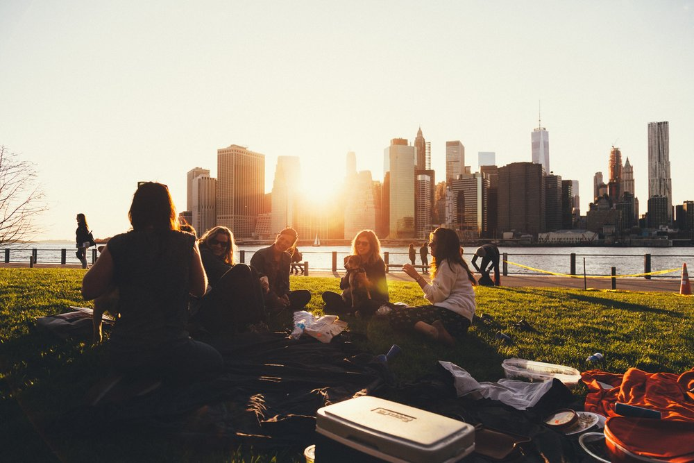 Later in the Morning - Post class light picnic