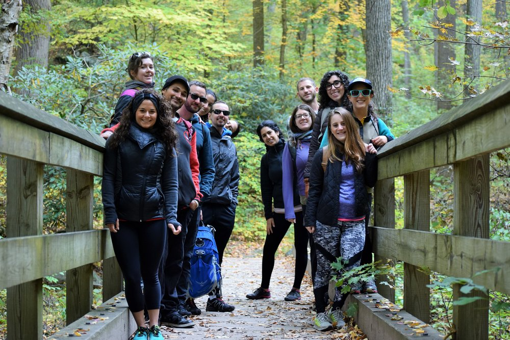 MORNING - - 8:30AM Hoboken Pickup Departure- Guided Hike of Norvin State Park