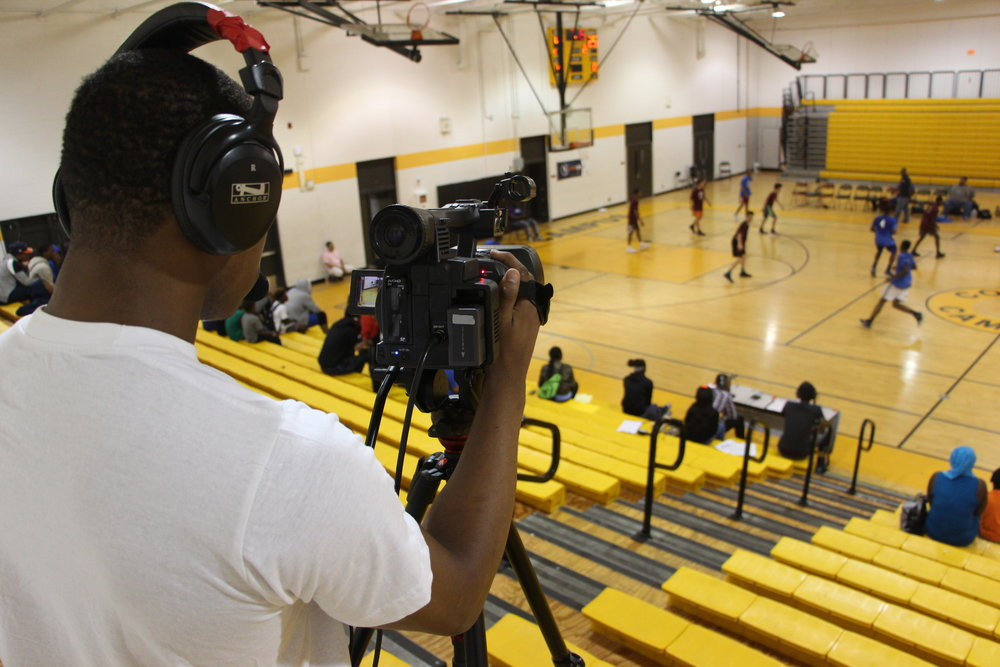 HoopsHIGH TOURNAMENTS - Our premier sports broadcasting program's tournaments take place every winter and spring in North Lawndale.