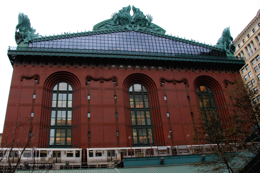 The Harold Washington Library