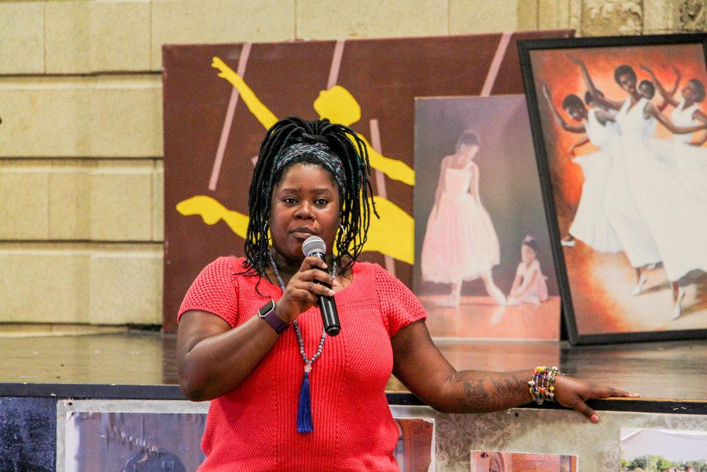Keta Glenn, In-School & Curriculum Manager, introduces FSM youth artist films