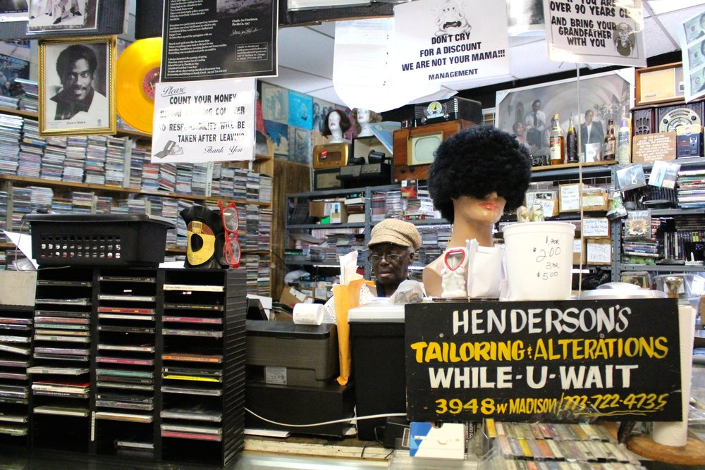 On most days, customers can find Marie Henderson tucked behind the counter.