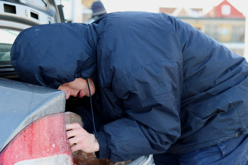 In the parking lot of an auto shop off Roosevelt Road and South Cicero Avenue, volunteers provided free repair services.