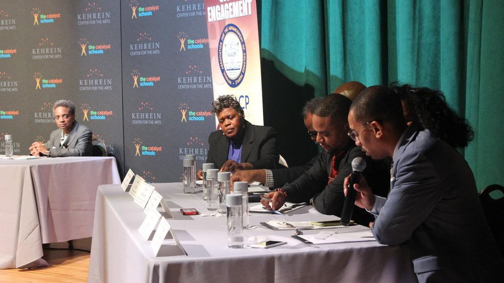 West Side Mayoral Forum panel