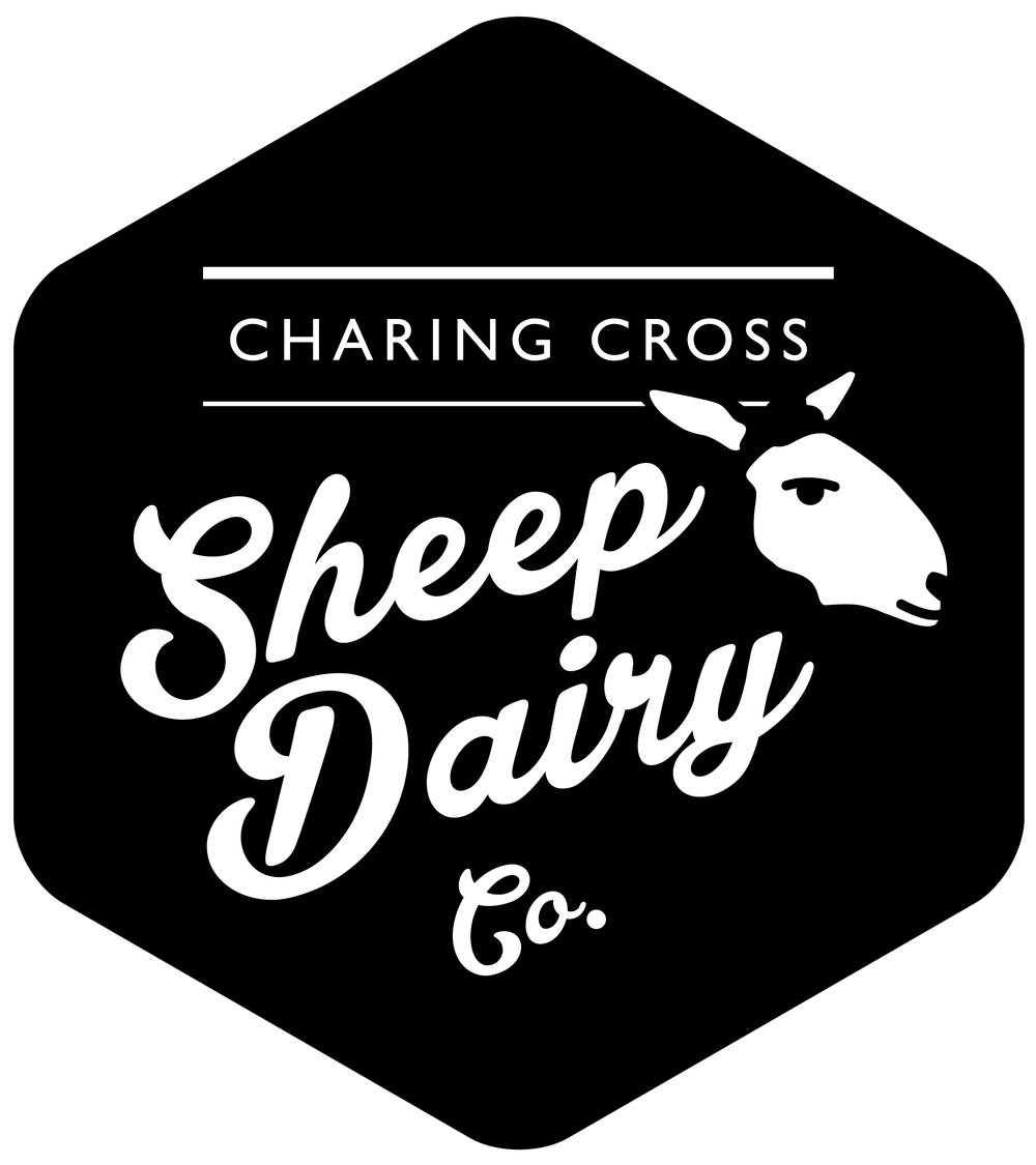 Welcome to Charing Cross Sheep Dairy. - A sustainable, responsible and ethical food business with our beautiful sheep, the land, the landscape as well as the good people who support us sitting at its heart.