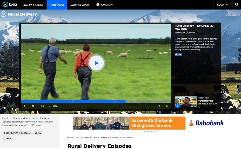 Rural Delivery (Saturday 27 May 2017) -