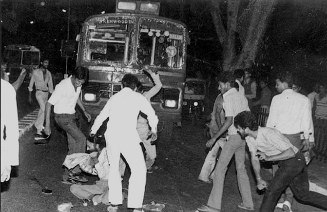 Murderous mobs were not random but highly coordinated.