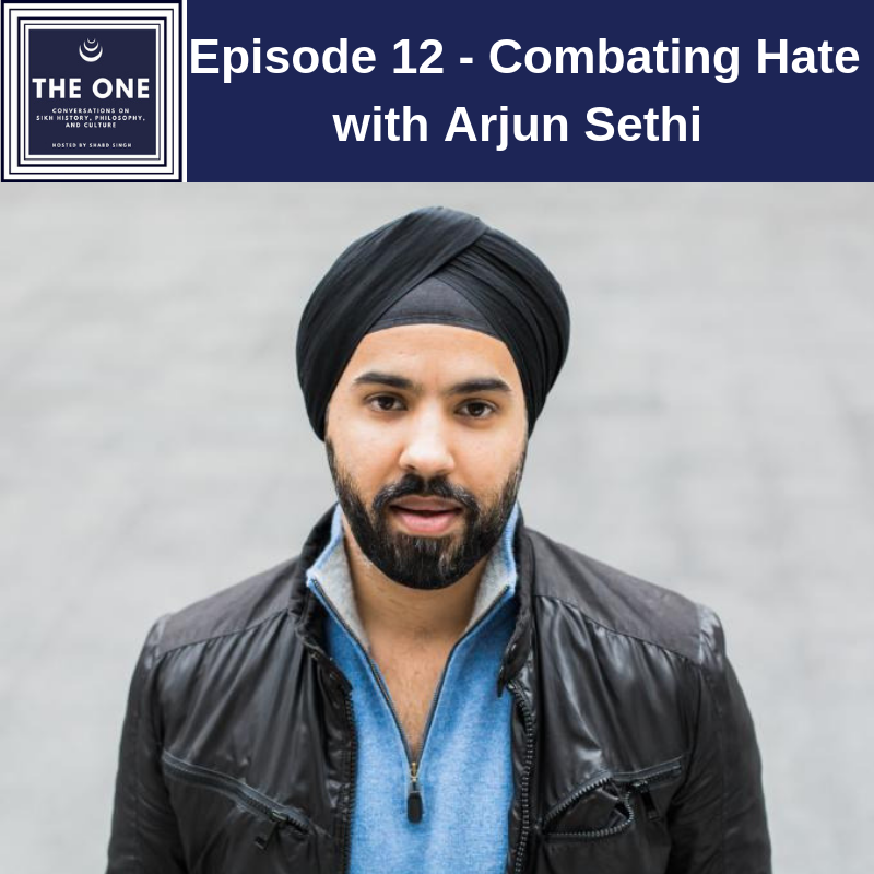 Episode 12 - Combating Hate with Arjun Sethi — THE ONE