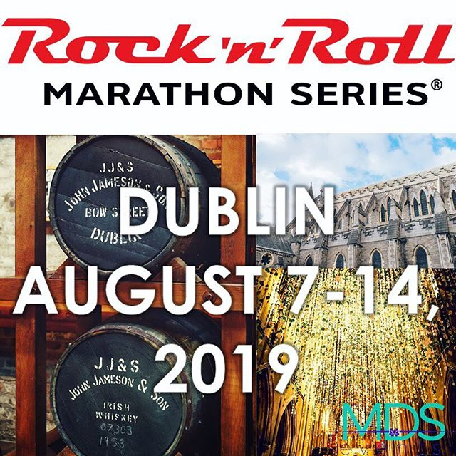 Travel Packages are now available at MDS Events! This is the most fun you'll ever have running.  #runner #marathon #travel #dublin #ireland #rocknrollmarathon #travel