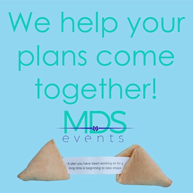 At MDS Events, we help your plans come together! #events #eventpro #specialevents #corporateevents #meetingplanner #eventprofs #eventpro #eventplanner