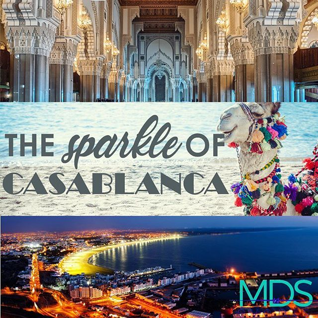 Featured destination of the week… #Casablanca, Morocco! From the major thoroughfares lined with palm trees and tall office buildings to the #AtlanticOcean and its view on the world, Casablanca is Morocco's economic powerhouse. #eventplanner #events #meetingplanner #meetings