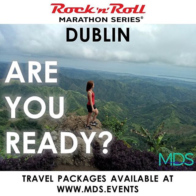 Travel Packages are now available atMDS Events! Get ready to rock #Dublin on 8/11/2019!  The toe-tapping, head-banging, air-guitaring goodness of a #race route is lined with live bands and entertainment. #runner #marathon #travel  #rocknrollmarathon