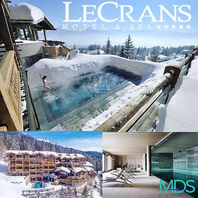 MDS Events, places we LOVE!  At #LeCrans Hotel & Spa, the landscape takes centre stage. Located at a top of the ski resort, the hotel is surrounded by spectacular scenery facing the open skies, the warm sun and the magnificent mountain peaks.  #meetingplanner #meetings #skiresort