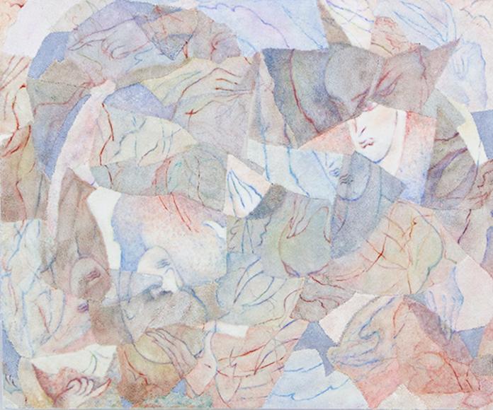 Bea Bonafini Shed Shreds - 164x134cm