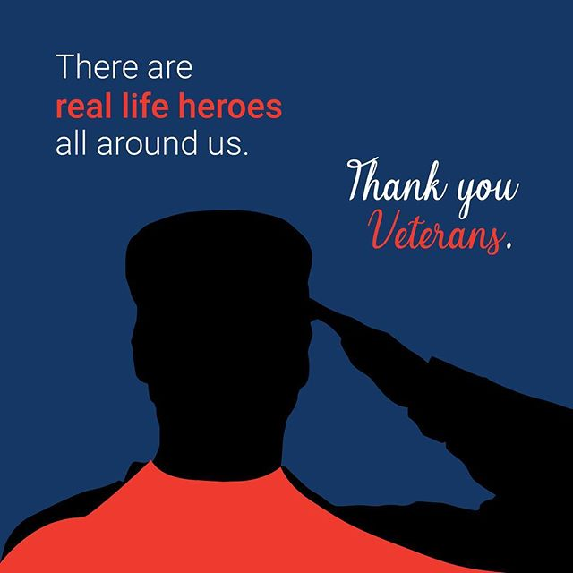 There are real life heroes all around us. Thank you veterans and their families. #veteransday #thankyou #veterans🇺🇸