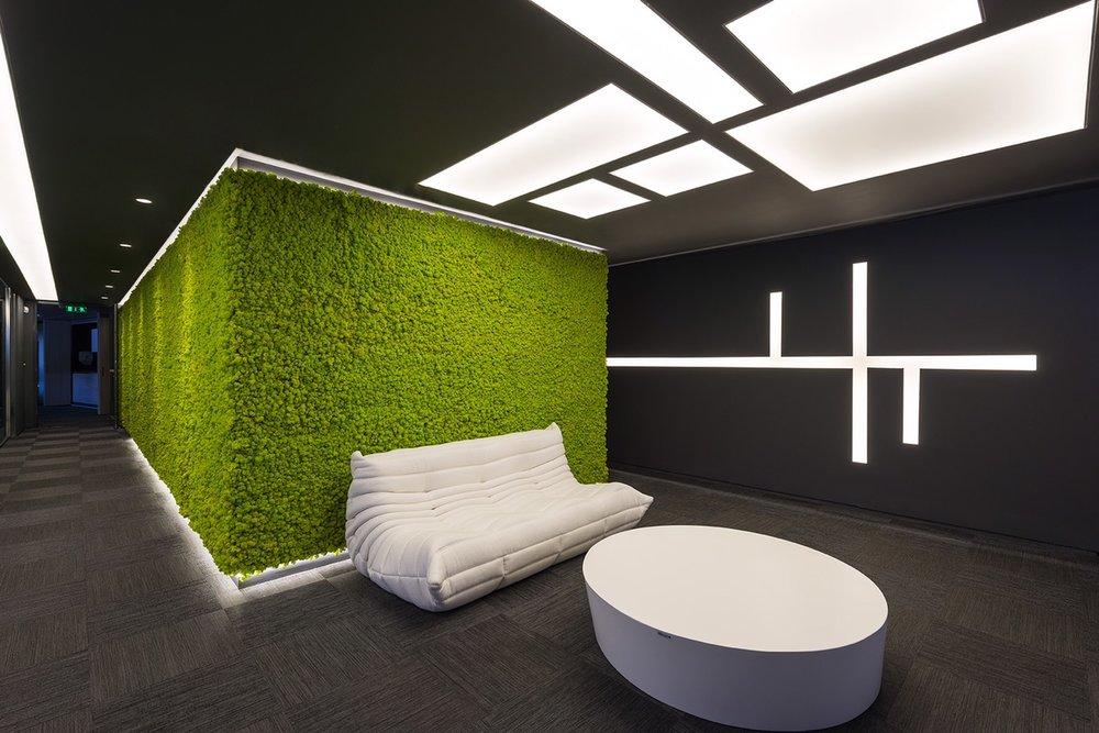 office reception design