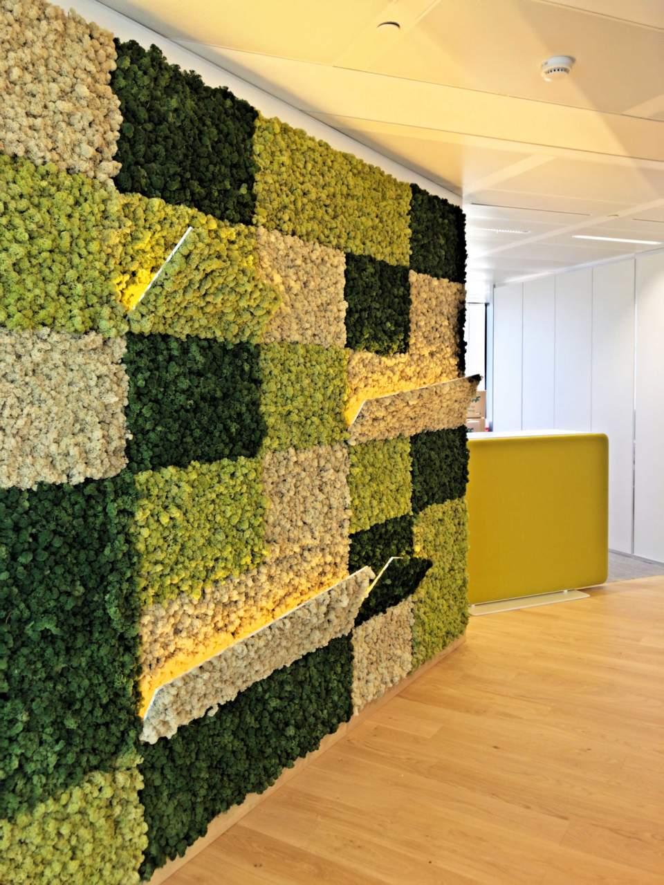 Multicolor Office Reception