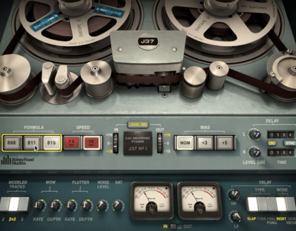 Waves j37 Tape Plugin