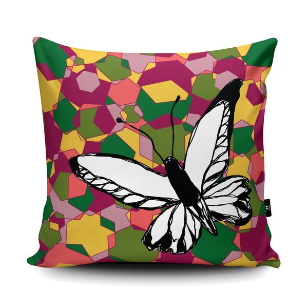 GEO BUTTERFLY Wraptious Cushion Competition Entry