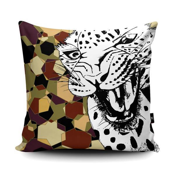 GEO LEOPARD Wraptious Cushion Competition Entry