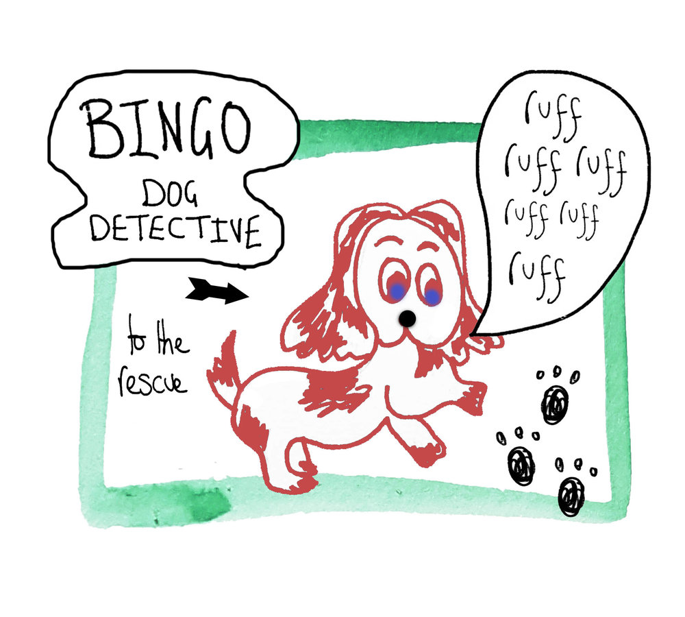 BINGO Dog Detective, Rebecca Johnstone