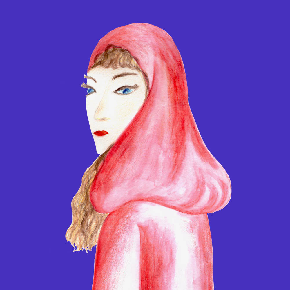 Red Riding Hood, by Rebecca Johnstone