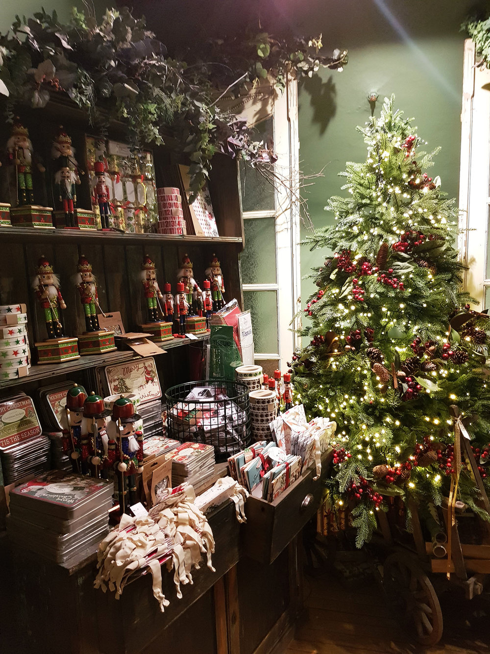 Christmas Shop @ Liberty 2018, Rebecca Johnstone