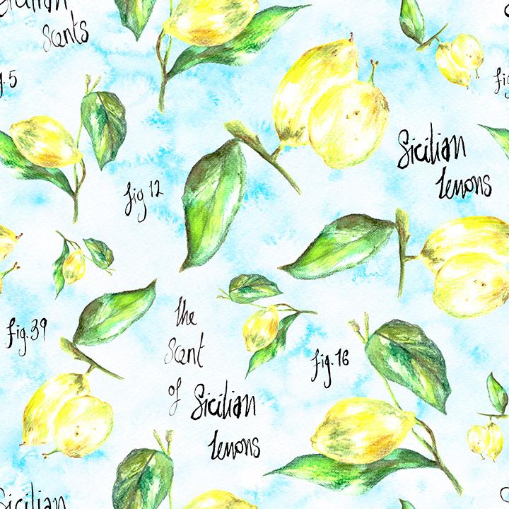 Sicilian Lemons by REBECCA JOHNSTONE