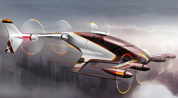 Airbus' flying concept car due to built within a year